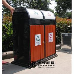 垃圾桶、长沙尚绿环保(在线咨询)、木质垃圾桶图片