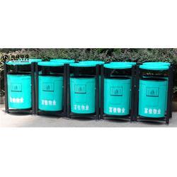 学校垃圾桶-垃圾桶-长沙尚绿环保(多图)图片