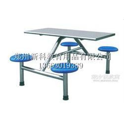 食堂餐桌椅生产厂家-新科餐桌椅图片