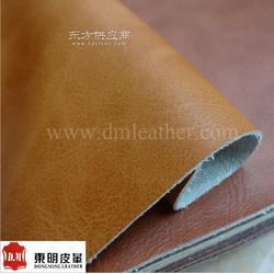 疯马纹超纤皮革面料-超纤仿真皮料-仿古家具沙发超纤皮料图片