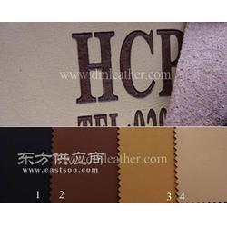 热压变色超纤皮-2.0mm 仿真皮超纤皮革-服装商标皮带鞋用超纤图片