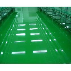 合肥环氧树脂地坪-合肥永晨地坪工程-自流平环氧树脂地坪图片