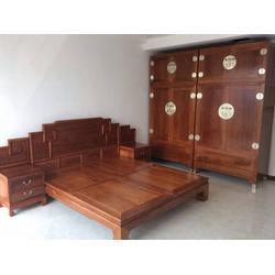 红木大床制造、淄博红木大床、大城昭瑞红木家具(查看)图片