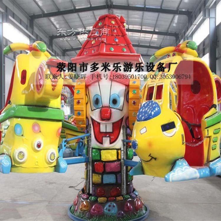 逼真刺激的游乐设施直升飞机报价小型室外儿童游乐设施旋转升降类机械飞机厂家图片