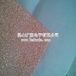 供应泡沫铜20PPI多孔泡沫金属铜3mm散热过滤器图片
