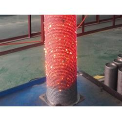 耐高温铁铬铝纤维布不锈钢316L高温布燃烧器耐高温材料图片
