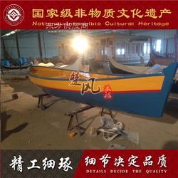 楚风木船 欧式木船 手划船 景区游船 旅游观光船 道具船图片