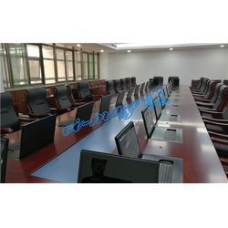 无纸化会议系统终端升降一体机|枣庄无纸化会议系统|南京唯美图片