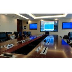 超薄升降器无纸化会议系统_南京唯美_蚌埠无纸化会议系统图片