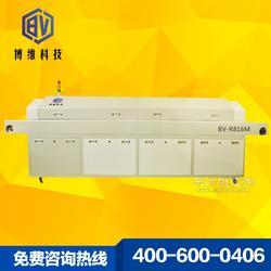 中型无铅经济型八温区回流焊通道式贴片机回流焊焊接效率高效果好图片