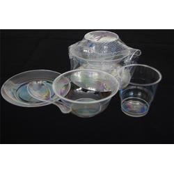 一次性水晶餐具,一次性水晶餐具回收,鸿泽塑业(优质商家)图片