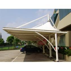 膜结构停车棚-无锡车棚-苏州创锦帆装饰工程有限公司图片