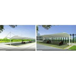 膜结景观棚-苏州膜结构-创锦帆装饰图片