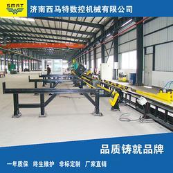 济南西马特厂家直销(多图)|数控角钢生产线|亳州角钢生产线图片