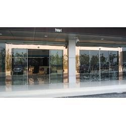 电动感应门-安装维修自动门-广州玻璃电动感应门图片