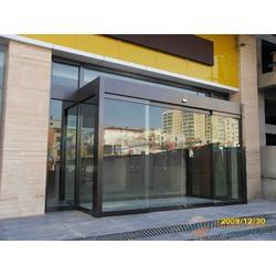 企石镇电动玻璃门-感应电动玻璃门-东莞安装感应门(优质商家)图片