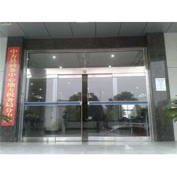 白云区感应玻璃门、银行感应玻璃门、广州安装感应门(优质商家)图片