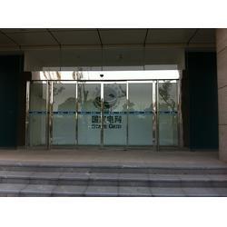 广州安装玻璃感应平移门-自动玻璃感应门电机-萝岗玻璃感应门图片