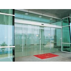 安装感应门 越秀区安装感应门 广州玻璃电动门(工程)图片