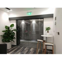 谢岗玻璃感应门,感应门接门禁-安装自动门图片
