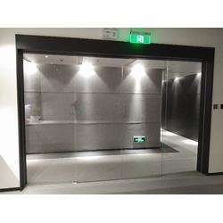 洛浦电动玻璃感应门配件,医院自动门机组-骏龙自动门图片
