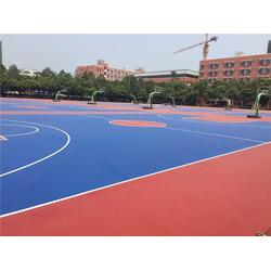 兰州硅PU球场、广州帝森、硅PU球场材料图片