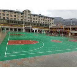 广州帝森(图)_硅PU球场施工方案_上海硅PU球场图片