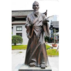 校園雕塑胸像、校園人物雕塑、秦皇島校園雕塑圖片