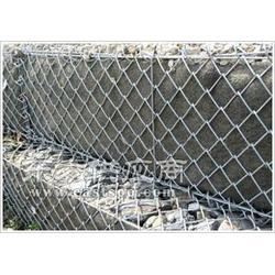 供应勾花石笼网 钢丝石笼网 钢丝防护网 石笼网箱 雷诺护垫图片