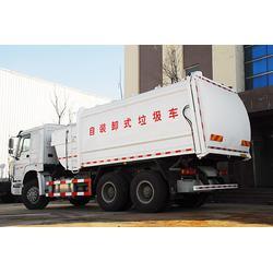 双鸭山垃圾车,济南中鲁特种汽车(优质商家),垃圾车厂家地址图片