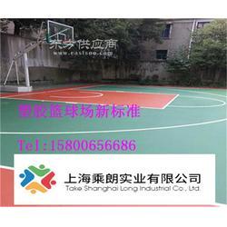 塑胶篮球场标准报价图片