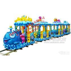 儿童轨道类游乐设备海洋火车童星游乐厂家直销欢迎订购图片