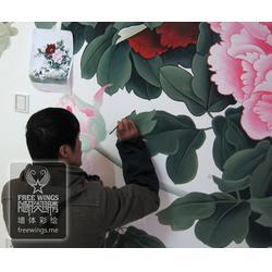 常州墙体彩绘,个性墙体彩绘,南京隐形翅膀(优质商家)图片