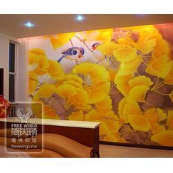 ktv墙绘|墙绘|南京隐形翅膀中心图片