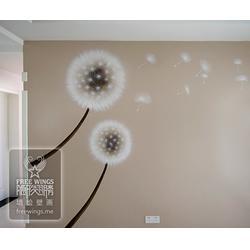 创意墙体彩绘素材-墙体彩绘-南京隐形翅膀艺术中心图片