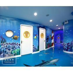 创意墙绘设计_南京隐形翅膀艺术公司_墙绘设计图片
