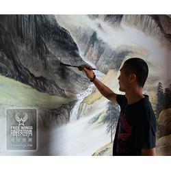 3d彩绘工艺,上海彩绘,南京隐形翅膀设计中心(查看)图片