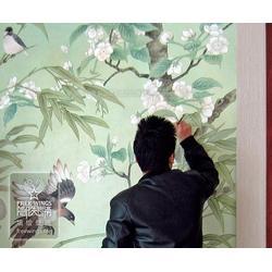 个性墙绘-墙绘-南京隐形翅膀艺术中心(查看)图片