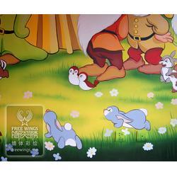 墙体彩绘图-墙体彩绘-南京隐形翅膀设计中心图片