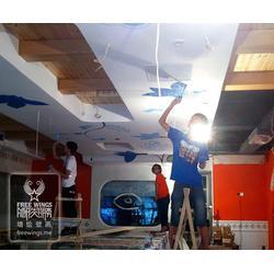 3d壁画展览_南京隐形翅膀(在线咨询)_壁画图片
