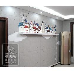 南京隐形翅膀中心 墙体彩绘人物-墙体彩绘图片
