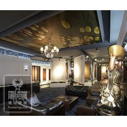 壁画-南京隐形翅膀艺术设计-壁画图片