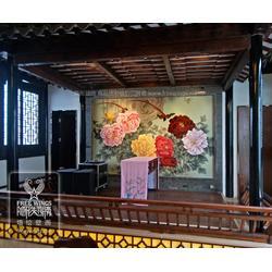 企业墙绘-墙绘-南京隐形翅膀中心(查看)图片