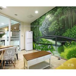 墙绘设计-南京隐形翅膀中心-专业墙绘设计图片