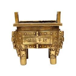 杨浦铜鼎、卫恒铜雕厂家、纯青铜鼎制作厂家图片