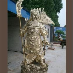 铜关公 卫恒铜雕 铜关公图片