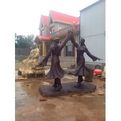 打油人物雕塑厂家、人物雕塑、专业定制图片
