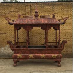 大型寺廟燒香銅香爐制作廠家,拉薩銅香爐,衛恒銅雕廠家(查看)圖片