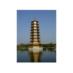 卫恒铜雕厂|赤峰铜塔|五米高铜塔铸造厂图片
