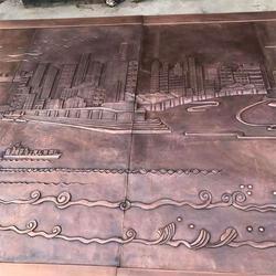 銅浮雕|衛恒銅雕(在線咨詢)|純銅浮雕鑄造廠圖片
